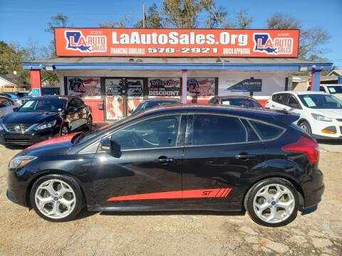 2013 Ford Focus for sale at LA Auto Sales in Monroe LA