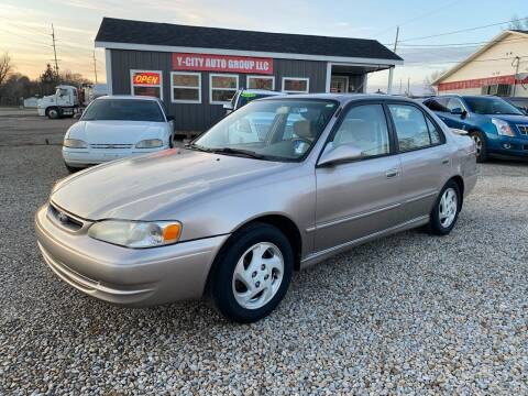 2000 Toyota Corolla for sale at Y City Auto Group in Zanesville OH