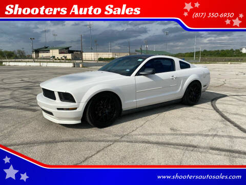 2008 Ford Mustang for sale at Shooters Auto Sales in Fort Worth TX