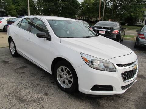 2014 Chevrolet Malibu for sale at St. Mary Auto Sales in Hilliard OH