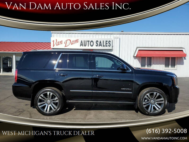 2017 GMC Yukon for sale at Van Dam Auto Sales Inc. in Holland MI
