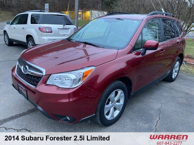 2014 Subaru Forester for sale at Warren Auto Sales in Oxford NY