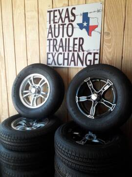 2020 Custom Rims and tires for sale at Texas Auto Trailer Exchange in Cleburne TX