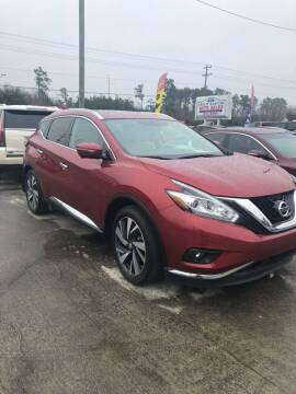 2015 Nissan Murano for sale at Gralin Hampton Auto Sales in Summerville SC