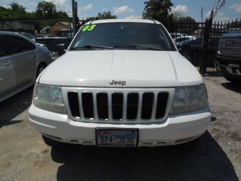 2003 Jeep Grand Cherokee for sale at SCOTT HARRISON MOTOR CO in Houston TX