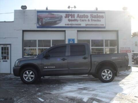 2008 Nissan Titan for sale at JPH Auto Sales in Eastlake OH