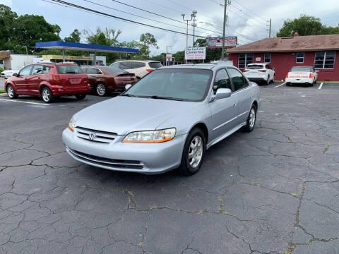 2002 Honda Accord for sale at Sam's Motor Group in Jacksonville FL