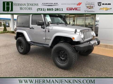 2017 Jeep Wrangler for sale at Herman Jenkins Used Cars in Union City TN