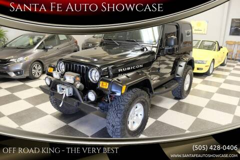 2004 Jeep Wrangler for sale at Santa Fe Auto Showcase in Santa Fe NM