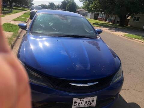 2015 Chrysler 200 for sale at STANLEY FORD ANDREWS in Andrews TX