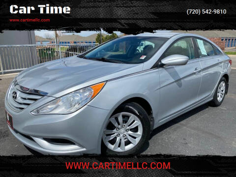 2013 Hyundai Sonata for sale at Car Time in Denver CO