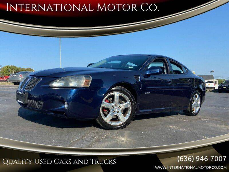 2007 Pontiac Grand Prix for sale at International Motor Co. in St. Charles MO