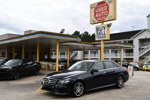 2015 Mercedes-Benz E-Class for sale at Houston Used Auto Sales in Houston TX