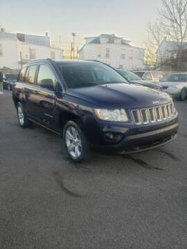 2012 Jeep Compass for sale at SERENITY AUTO OUTLET in Frederick MD