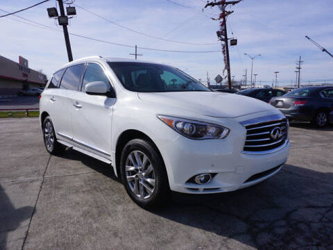 2013 Infiniti JX35 for sale at BLUE RIBBON MOTORS in Baton Rouge LA