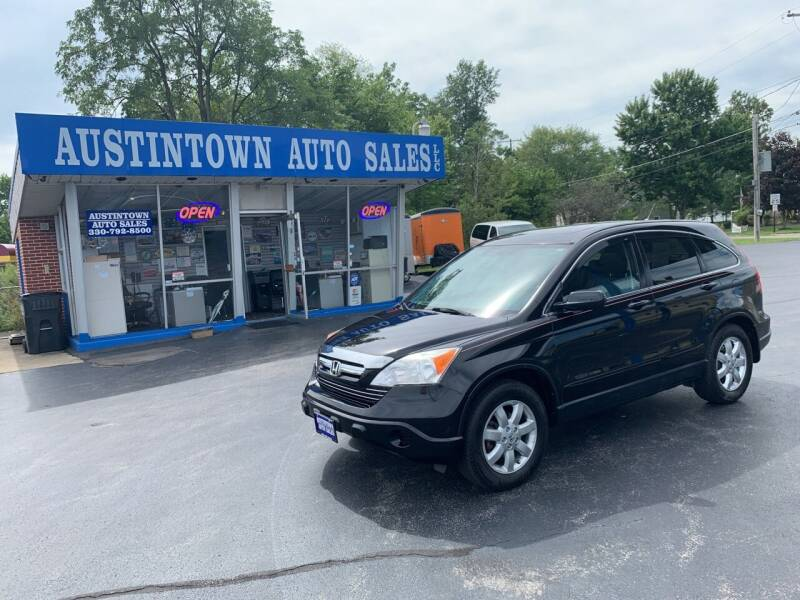 2008 Honda CR-V for sale at Austintown Auto Sales LLC in Austintown OH