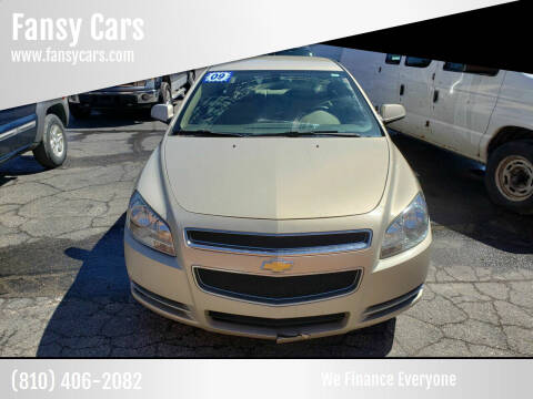 2009 Chevrolet Malibu for sale at Fansy Cars in Mount Morris MI