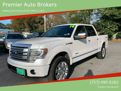 2014 Ford F-150 for sale at Premier Auto Brokers in Virginia Beach VA