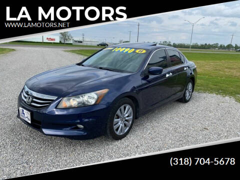 2011 Honda Accord for sale at LA MOTORS in Alexandria LA
