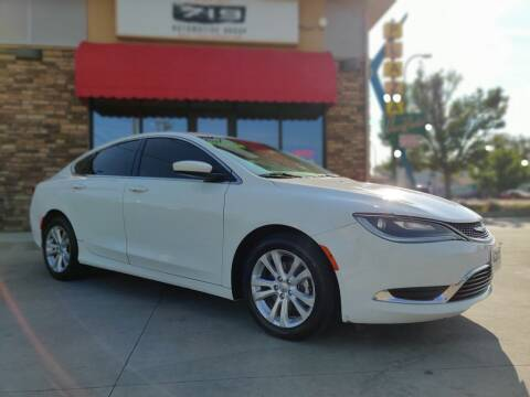 2015 Chrysler 200 for sale at 719 Automotive Group in Colorado Springs CO