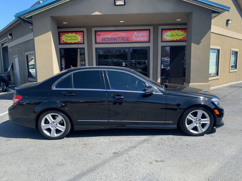 2011 Mercedes-Benz C-Class for sale at Advantage Auto Sales in Garden City ID