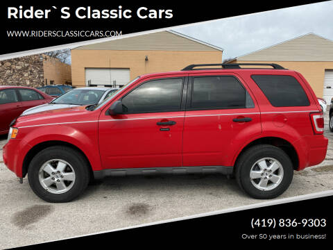2009 Ford Escape for sale at Rider`s Classic Cars in Millbury OH