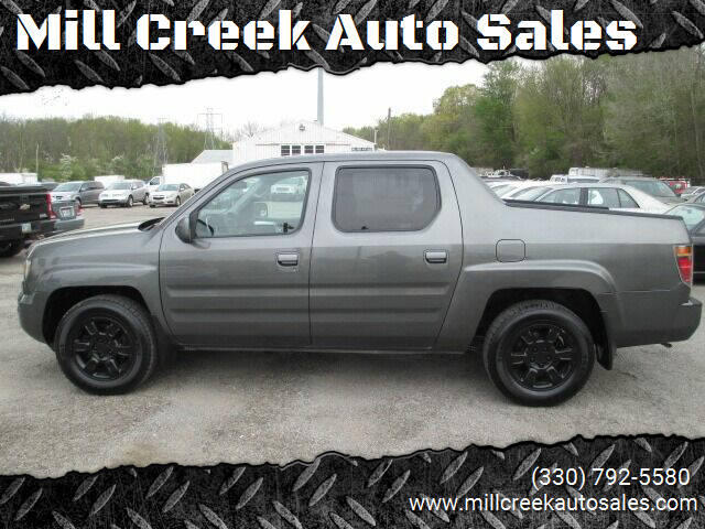 2007 Honda Ridgeline for sale at Mill Creek Auto Sales in Youngstown OH