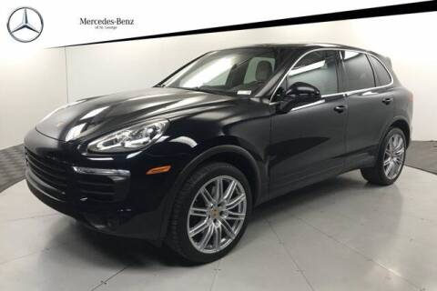 2016 Porsche Cayenne for sale at Stephen Wade Pre-Owned Supercenter in Saint George UT