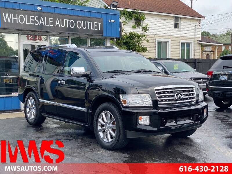 2010 Infiniti QX56 for sale at MWS Wholesale  Auto Outlet in Grand Rapids MI