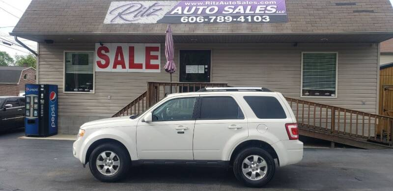 2011 Ford Escape for sale at Ritz Auto Sales, LLC in Paintsville KY