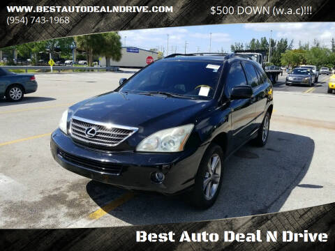 2007 Lexus RX 400h for sale at Best Auto Deal N Drive in Hollywood FL