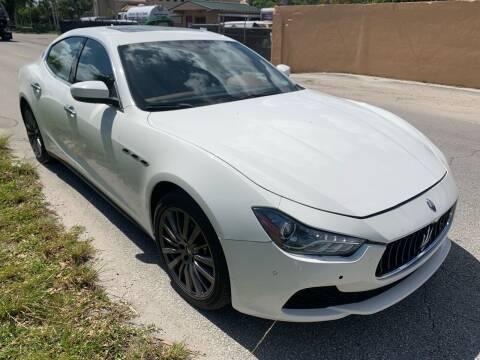 2017 Maserati Ghibli for sale at Eden Cars Inc in Hollywood FL