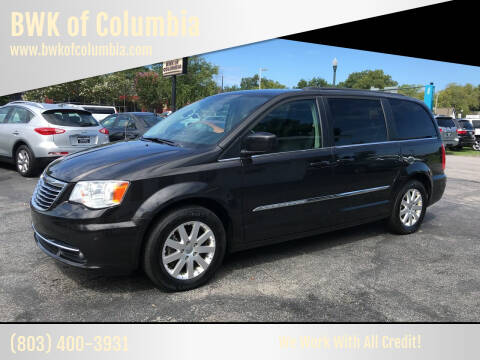 2015 Chrysler Town and Country for sale at BWK of Columbia in Columbia SC