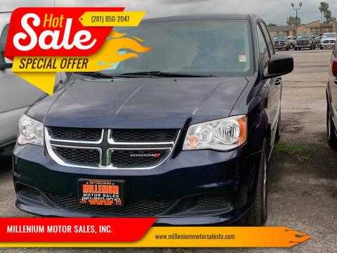 2014 Dodge Grand Caravan for sale at MILLENIUM MOTOR SALES, INC. in Rosenberg TX