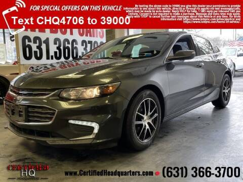2016 Chevrolet Malibu for sale at CERTIFIED HEADQUARTERS in St James NY
