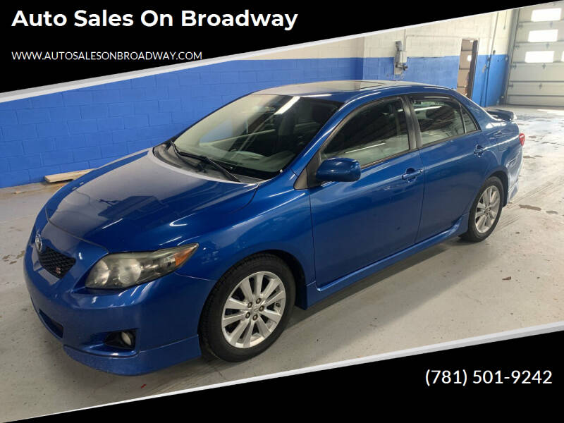 2010 Toyota Corolla for sale at Auto Sales on Broadway in Norwood MA