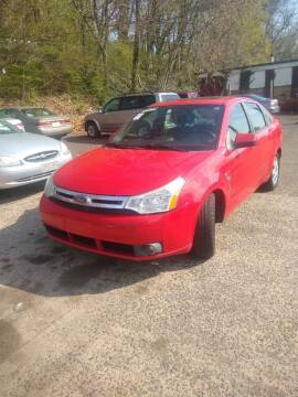 2008 Ford Focus for sale at Cheap Auto Rental llc in Wallingford CT