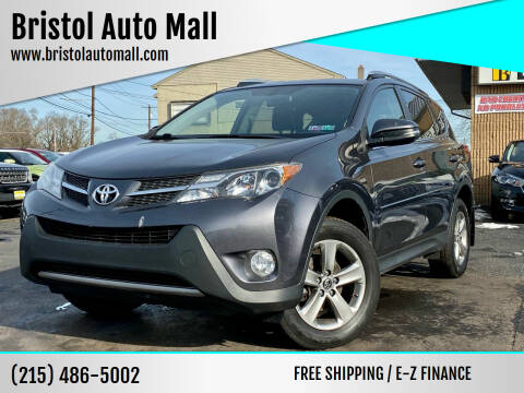 2015 Toyota RAV4 for sale at Bristol Auto Mall in Levittown PA