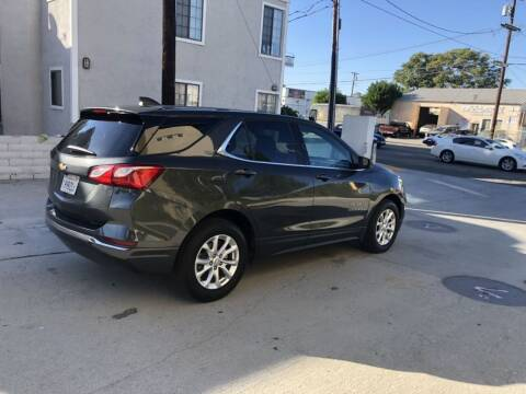 2018 Chevrolet Equinox for sale at Bell Auto Inc in Long Beach CA