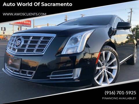 2015 Cadillac XTS for sale at Auto World of Sacramento Stockton Blvd in Sacramento CA