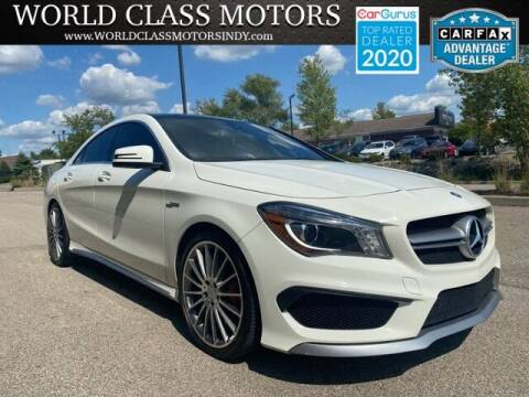 2015 Mercedes-Benz CLA for sale at World Class Motors LLC in Noblesville IN