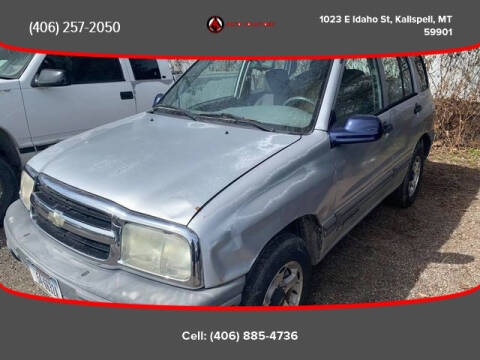2000 Chevrolet Tracker for sale at Auto Solutions in Kalispell MT