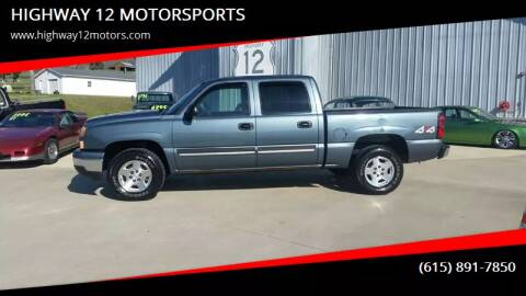 2006 Chevrolet Silverado 1500 for sale at HIGHWAY 12 MOTORSPORTS in Nashville TN
