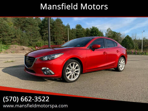 2015 Mazda MAZDA3 for sale at Mansfield Motors in Mansfield PA
