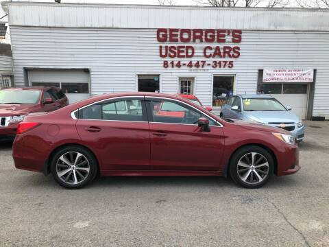 2015 Subaru Legacy for sale at George's Used Cars Inc in Orbisonia PA