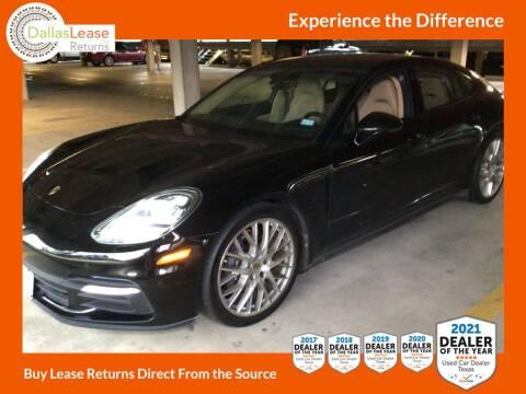 2018 Porsche Panamera for sale at Dallas Auto Finance in Dallas TX