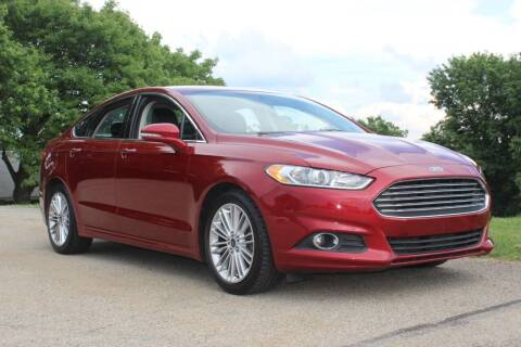 2016 Ford Fusion for sale at Harrison Auto Sales in Irwin PA