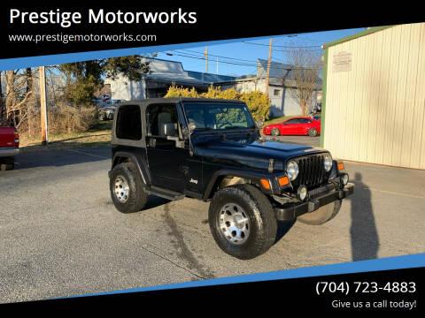 2006 Jeep Wrangler for sale at Prestige Motorworks in Concord NC