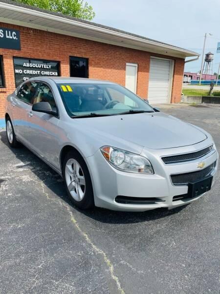 2011 Chevrolet Malibu for sale at Guidance Auto Sales LLC in Columbia TN