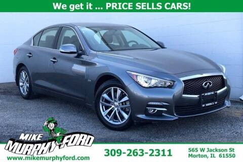2017 Infiniti Q50 for sale at Mike Murphy Ford in Morton IL